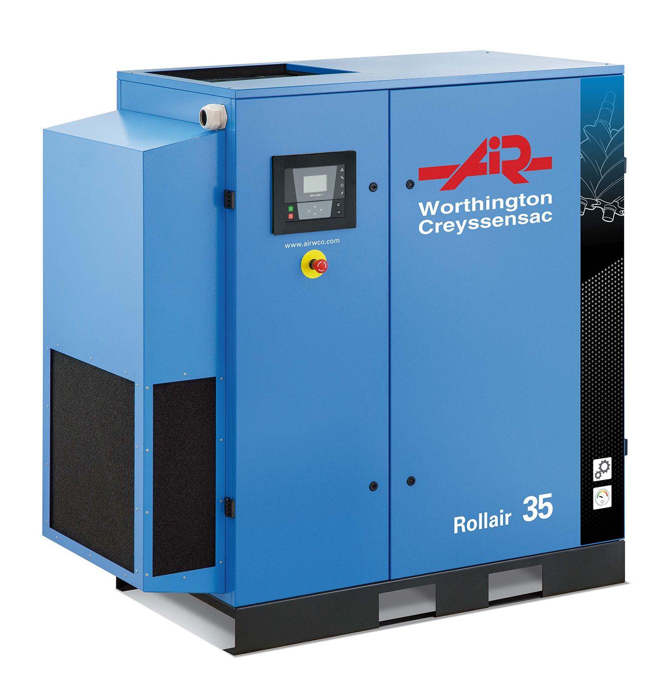 Une gamme de compresseurs à vis innovante de 30 à 50 ch pour les industries